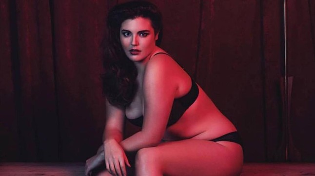 La hija de Andy García, Alessandra, modelo de tallas grandes.