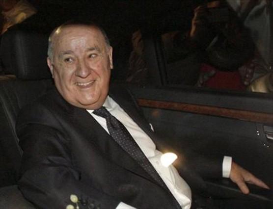 Amancio Ortega, uno de los hombres más ricos del mundo.