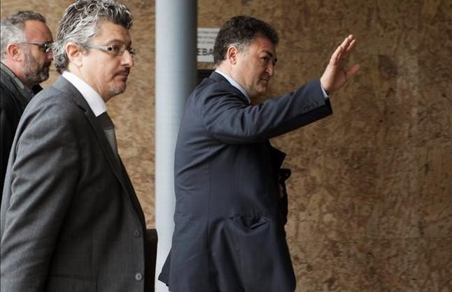 Pepote Ballester, a su llegada al juicio por el caso Noos