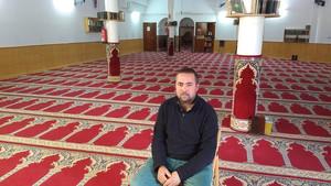 Abdesamad El Bakali, presidente de la asociación cultural Al Ouahda de Rocafonda, en Mataró.