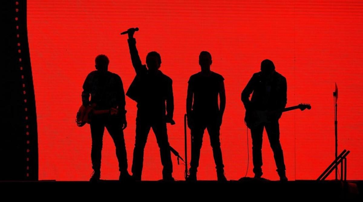 U2, en el concierto que ofrecieron el pasado 8 de julio en Londres, dentro de The Joshua Tree Tour.