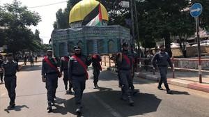 Miembros de Hamas, en Gaza.