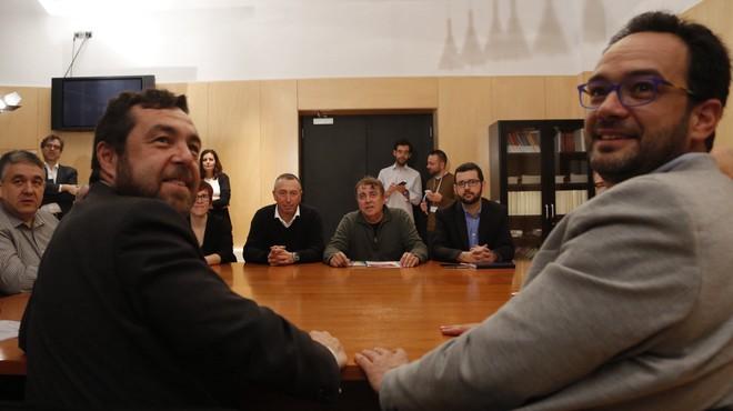 El PSOE i Ciutadans reprenen aquest dimecres les converses amb Compromís