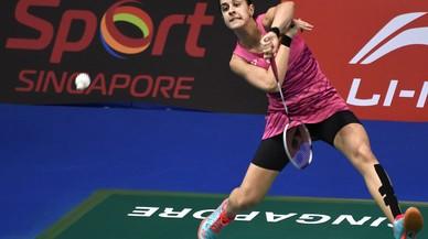 Carolina Marín disputarà la final de l'Open de Singapur