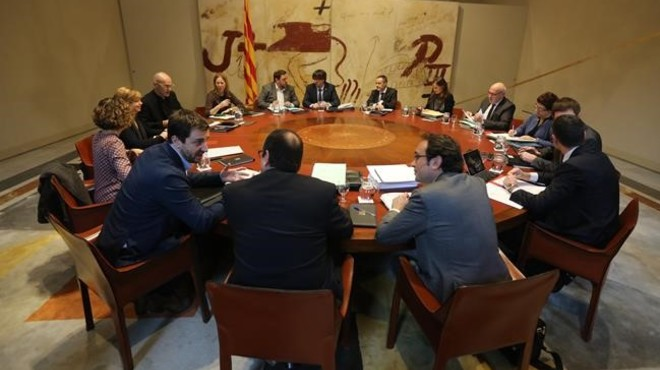 La roda de premsa de la reunió del Govern, en directe