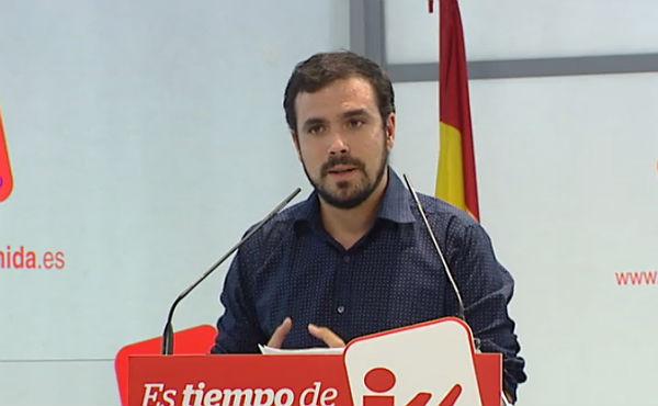 Alberto Garzón anuncia la intenció de presentar-se a les primàries d'Ara en Comú