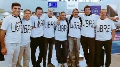 La ciudad de Messi llora a cinco amigos