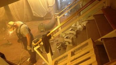 Un grup de passatgers denuncien Pullmantur per les molèsties d'un creuer en obres