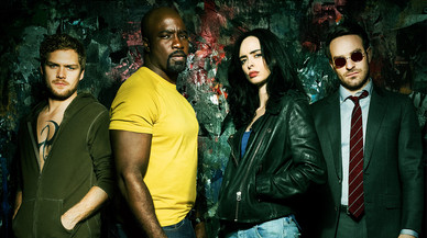 'Los Defensores' de Marvel, en Netflix
