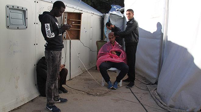 La desesperación de los refugiados en los campos de acogida griegos.