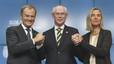 Els Vint-i-vuit elegeixen Tusk de president del Consell i Mogherini de cap de la diplomàcia