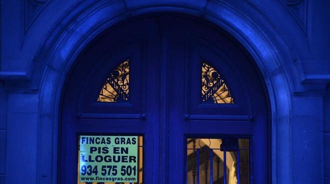 Un anuncio en un portal.