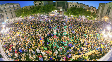 Més de 6.000 persones es concentren a Sabadell per rebutjar les actuacions de la Guàrdia Civil
