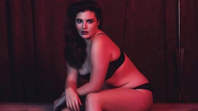 La hija de Andy García, modelo de tallas grandes