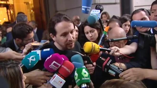 """""""No va a ser por nosotros que el PP de la Gürtel vaya a renovar en Moncloa"""", dice Íñigo Errejón"""