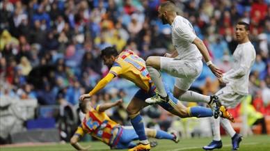 El Madrid-València, en directe 'on line': Ronaldo avança als blancs