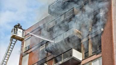 Un mort en l'incendi d'un pis al Putxet, a Barcelona
