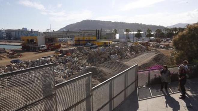 El nuevo plan del puerto para la Nova Bocana gana 14.000 metros cuadrados de uso público