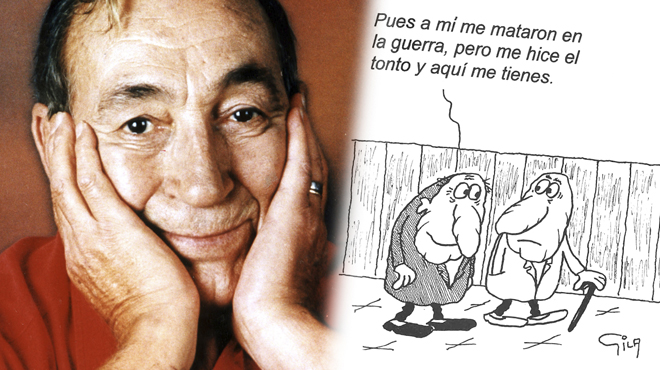 L'humor gràfic de Miguel Gila, més actual que mai