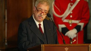 Navarro Arisa, en la entrega de los galardones Premi Ciutat de Barcelona 2004