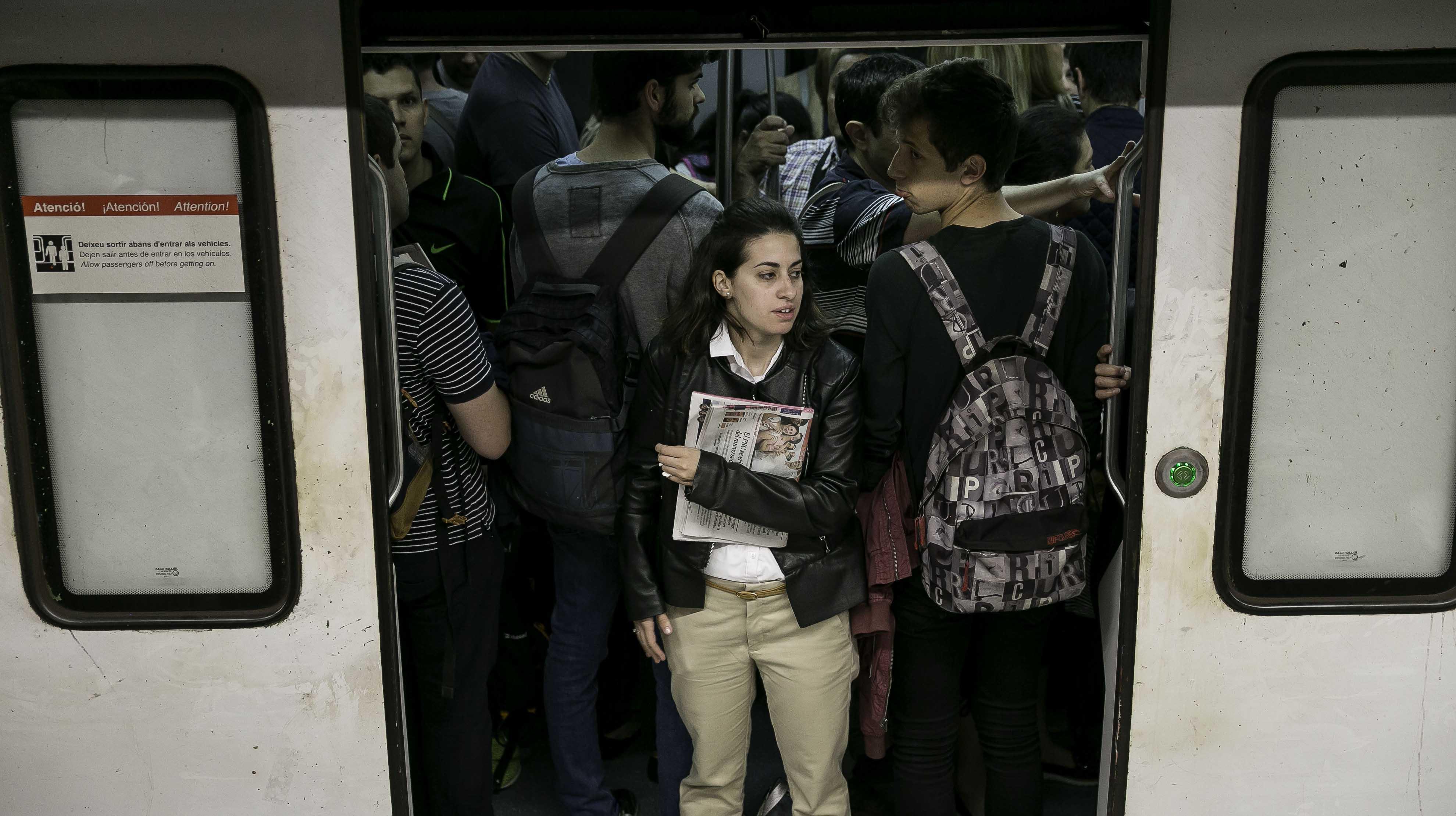 Els treballadors del metro tornen a fer vaga aquest dilluns
