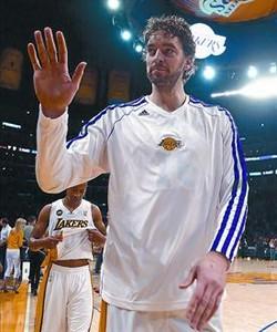 """Pau Gasol: """"La posibilidad m�s clara es que me quede en los Lakers"""""""