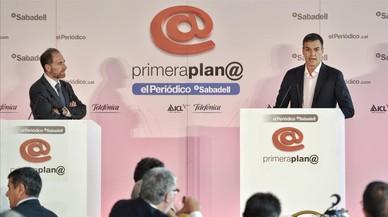 Pedro Sánchez en el foro Primera Plana | Directo