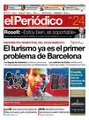 La portada de EL PERIÓDICO del 24 de junio del 2017