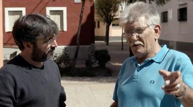 Jordi Évole, con un preso de récord