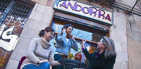 �Mires donde mires, el barrio de Sant Pere emociona�