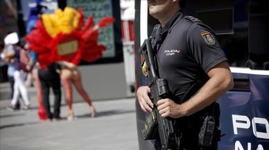 L'Orgull Gai converteix Madrid en una ciutat ocupada per la Policia