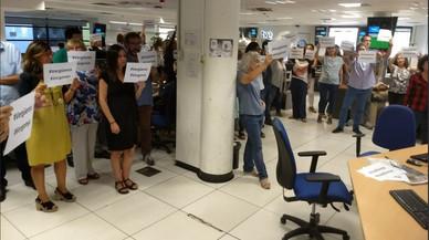 Els periodistes de TVE exigeixen la dimissió immediata del director d'Informatius