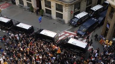 Protestes a tot Catalunya contra la repressió policial