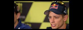 El australiano, durante el anuncio de su retirada, el 17 de mayo en el circuito de Le Mans.