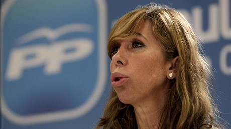La presidenta del PP cataln, Alicia Snchez-Camacho.