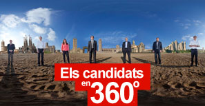 EL PERI�DICO reuneix els presidenciables en una foto conjunta