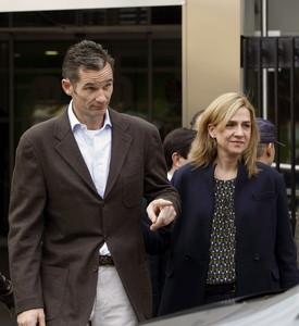 La infanta Cristina i el seu marit, Iñaki Urdangarin, el 25 de novembre passat, a Madrid.