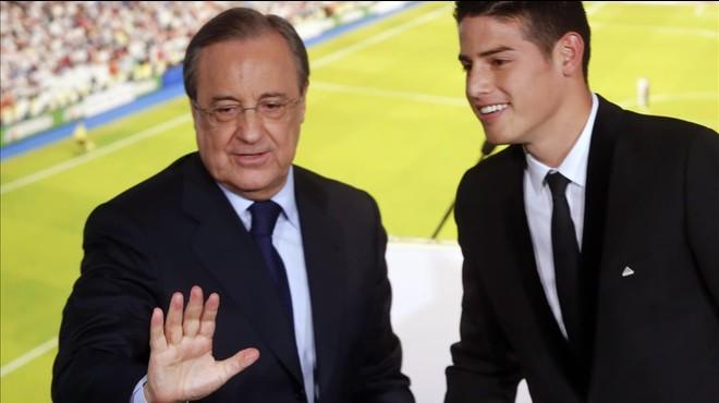 La policia demana sancionar la seguretat del Madrid pel 'cas James'