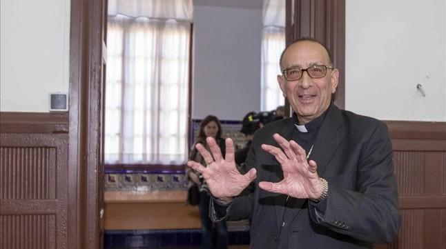 Juan José Omella, arzobispo de Barcelona, tras su nombramiento el pasado noviembre.
