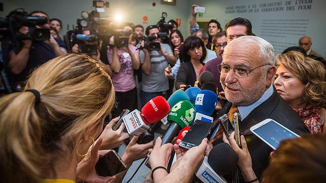 Juan Cotino nega que oferís res a ningú a canvi del seu silenci després de laccident del metro de València.