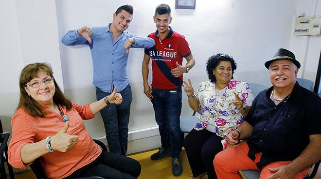 Colombians a Barcelona i lacord de pau