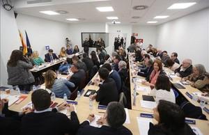 abertran37566994 barcelona 06 03 2017 politica reunion de la ejecutiva del pd170306115213