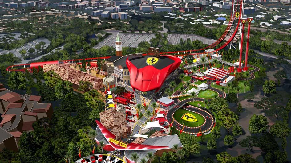 Ferrari Land: Empieza la cuenta atrás (ES)