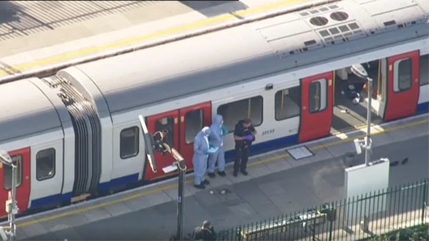 Atac terrorista al metro de Londres