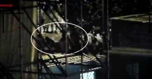 Vídeo del momento en el que la víctima se reunió con la Manada