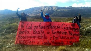 Los mapuches argentinos en pie de guerra contra Benetton