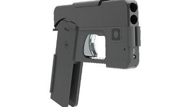 Alerta per l''iPhone pistola'