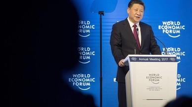Xi Jinping a Davos