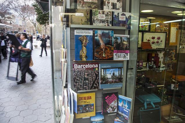 Los libros sobre Barcelona se convierten en un éxito de ventas