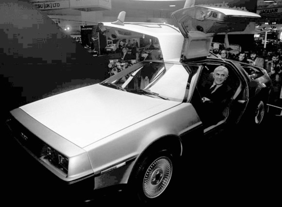 El DeLorean regresa al futuro